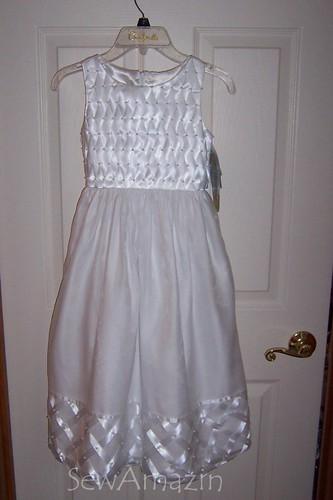 First Communion Dress (w/o crinoline))