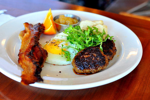 Brunching at Salt's Cure - West Hollywood