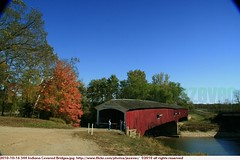 2010-10-16 544 Indiana Covered Bridges West Union Bridge (Badger 23 / jezevec) Tags: wood bridge usa architecture america puente countryside wooden madera country indiana ponte cover covered pont brug  brcke holz madeira hout bois 2010 legno ural    ponticello            lindiana   20101016