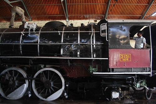 City Hangout – Steam Engines, Rewari Loco Shed