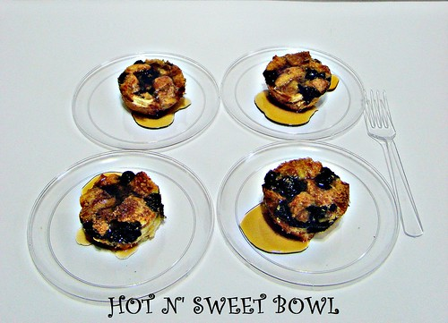 Blueberry French Toast Cups