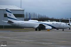 4X-EKC - 29959 - El Al Israel Airlines - Boeing 737-858 - 110114 - Luton - Steven Gray - IMG_7899