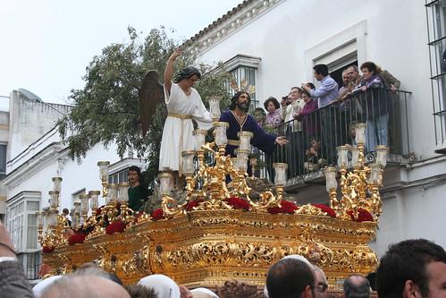 Nuestro Padre Jesús de la Oración en el Huerto. Procesión Magna del Santo Entierro. Sanlúcar de Barrameda, Sábado Santo 2011