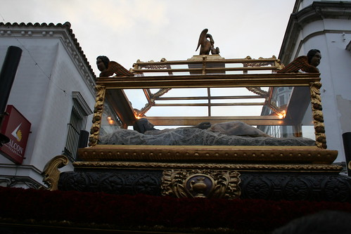 Santo Entierro de Nuestro Señor Jesucristo. Procesión Magna del Santo Entierro. Sanlúcar de Barrameda, Sábado Santo 2011