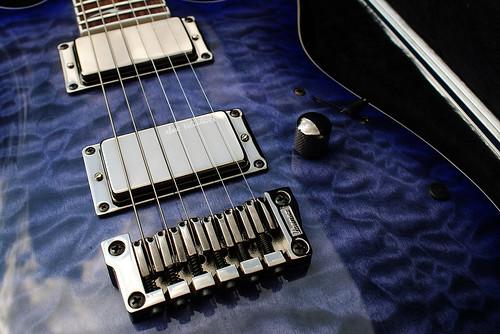 Ibanez RGA72QM TLB + Seymour Duncan Dave Mustaine set