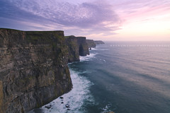 [350/365] Cliffs of Moher (ng.kelven) Tags: road longexposure trip ireland sunset vacation doolin cliffsofmoher canon5dmarkii carlszeiss21mmf28distagon