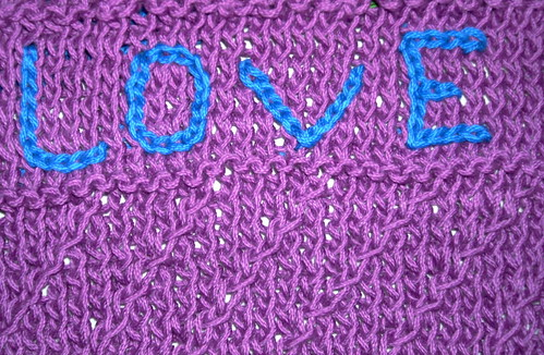 Love Wash Cloth