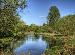 The river Itchen, near Winchester