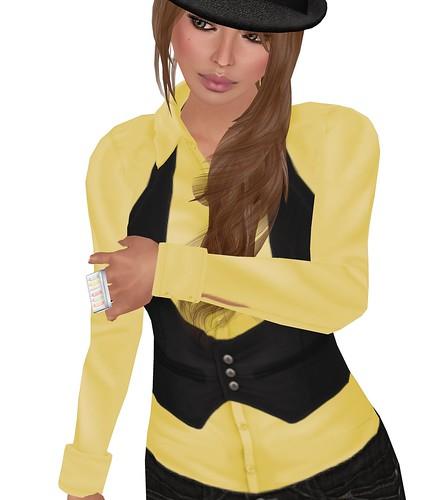 Yellow...shocking I know