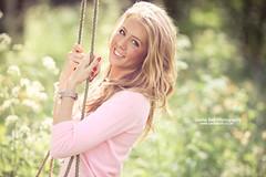 Pink Swing Girl - Day 225/365 (Sasha L'Estrange-Bell) Tags: summer spring 135mm canoneos1dmarkiii springgirl oliviabell sashabellphotography tbsart