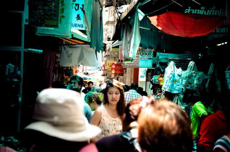Woman in Chinatown