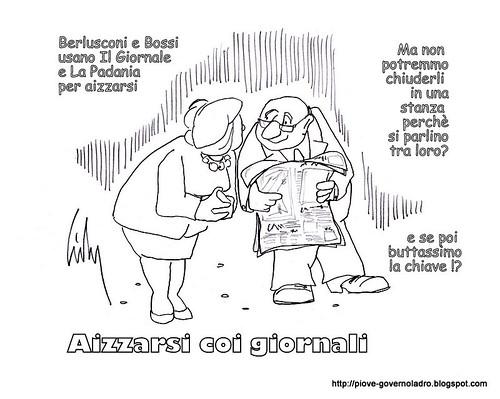 Aizzarsi coi giornali by Livio Bonino