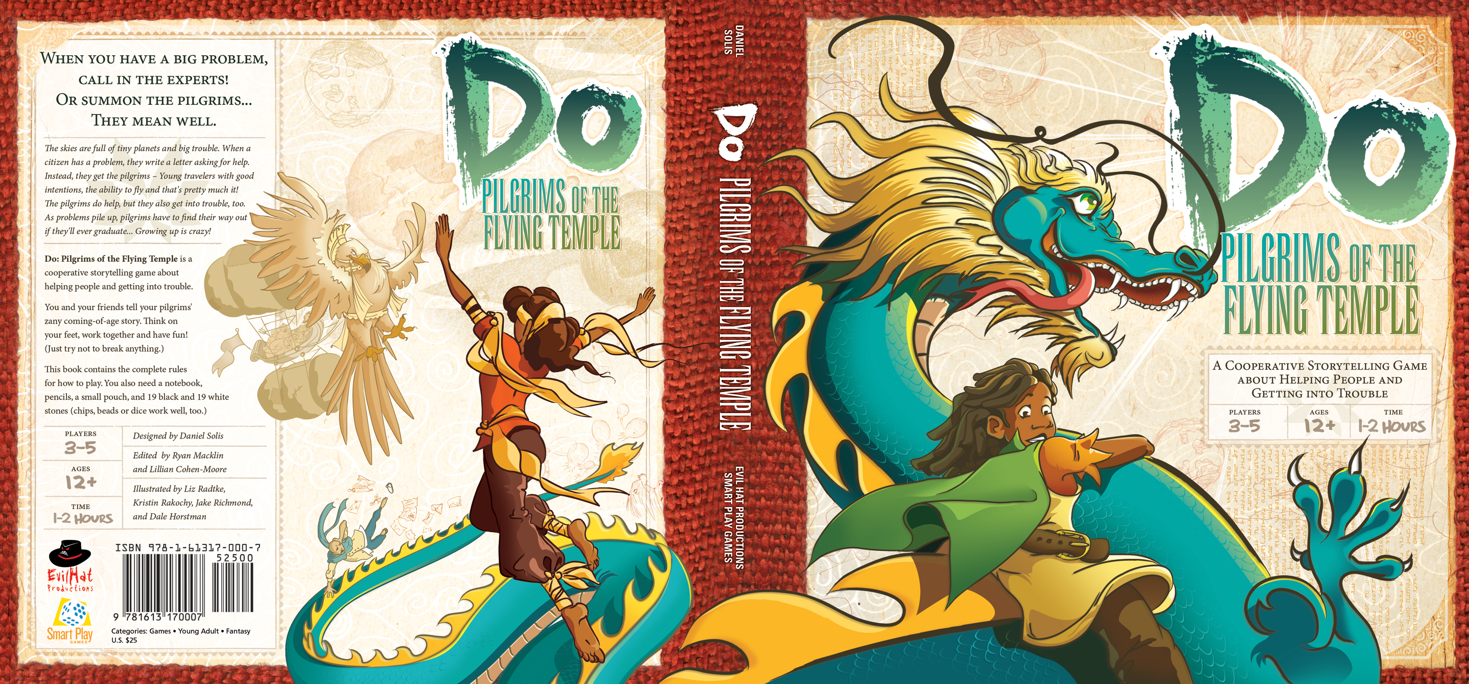 Front and back cover of Do: Pilgrims of the Flying Temple