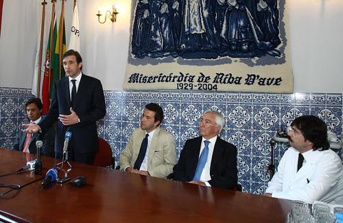 Visita ao Hospital da Stª Casa da Misericórdia de Riba D'Aves