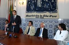 Visita ao Hospital da Stª Casa da Misericórdia de Riba D