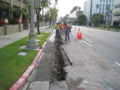 wilshire roadwork