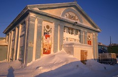 Theatre in Dickson, Siberia (Weber Arctic Expeditions) Tags: ice richard misha weber northpole frostbite arcticocean polarexpedition malakhov wardhuntisland fischerskis polarbridge polartraining capearkticheskiy dimitrishparo shparo