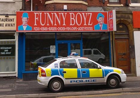 Funny Boyz Fast Food Shop