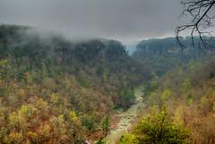 Little River Canyon (the waterfallhunter) Tags: mist fog canyon littlerivercanyon lookoutmountain littleriver dekalbcounty fortpaynealabama littlerivernationalpreserve wolfcreekoverlook