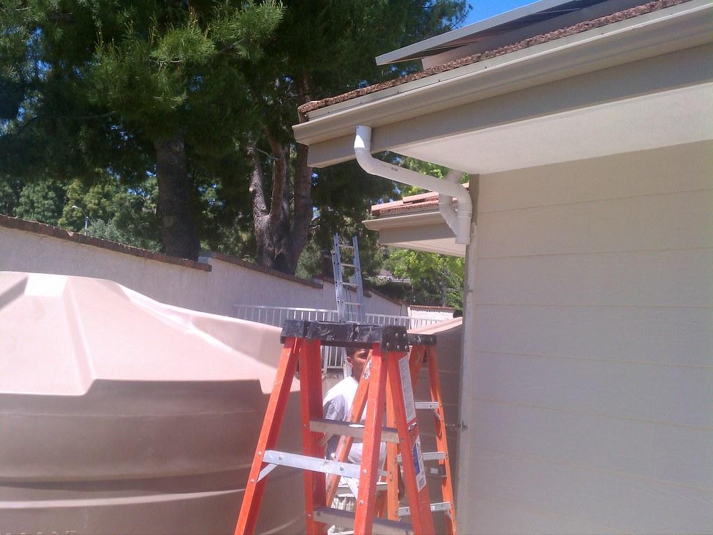 Rain barrel installation, 11