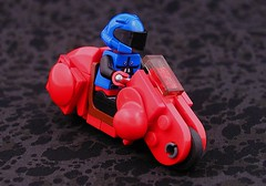 Teeeetsuuuuoooooo! (Mechanekton) Tags: anime bike lego future scifi motorcycle akira cyberpunk civilian