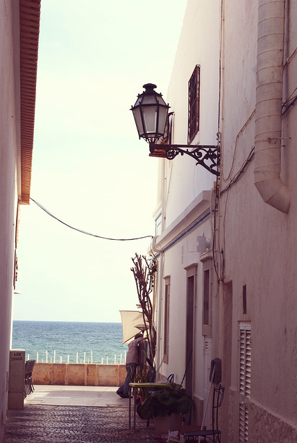 little street to the sea
