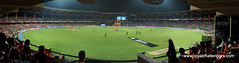 Panorama view of Chinnaswamy stadium, Bangalore