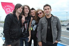 Mayday Parade (The Keep A Breast Foundation [KAB]) Tags: road trip love for heart cancer educational ever macbeth kab emergenc bamboozle booth maydayparade keepabreast i music iloveboobies breast breast prevention cancer awareness boobies keep traveling 2011 bamboozle2011 breastroadtripever2011 keepabreast