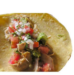 Pollo Asado Tacos