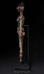 Future Ancestor #3 (Spirit Figure) (Shain Erin) Tags: sculpture fetish spirit surrealism fineart artifact darkart visionaryart sorcery ancestorfigure shainerin