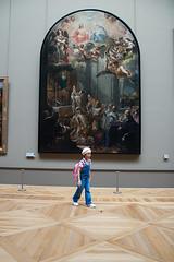 Little Girl, Big Painting
