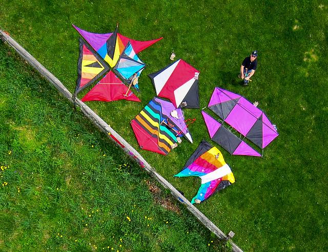 Kites That Lift Cameras