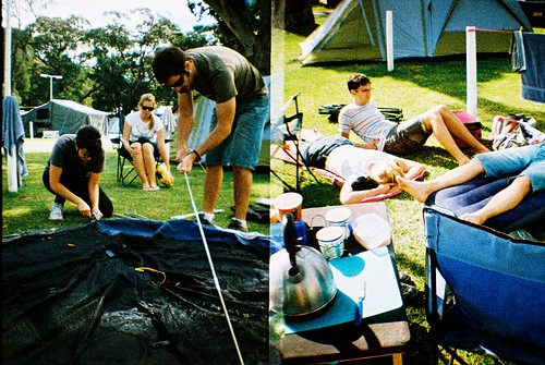 Easter long weekend camping