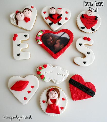 Resimli kurabiye