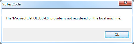 Microsoft Ace Oledb 12.0