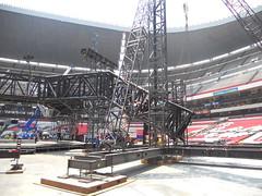 Cuarto día de montaje - Estadio Azteca 31