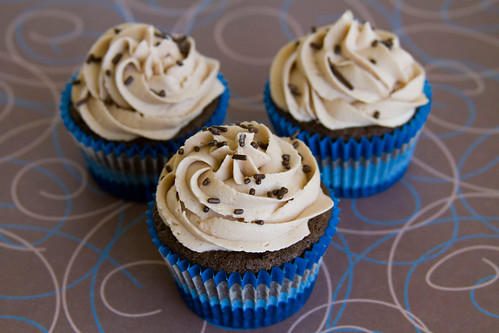 Triple Nutella Cupcakes - 1