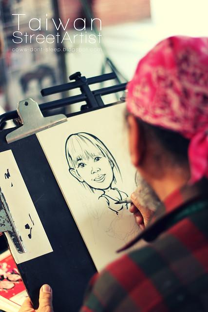 Taiwan Street Artist - portrait