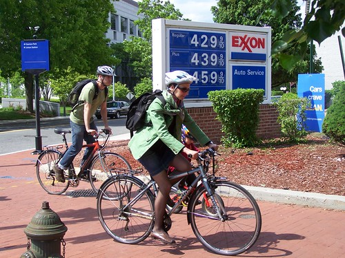 Biking is the solution to high gas prices