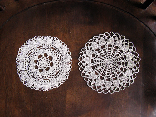 Doilies from Japanese Crochet Book