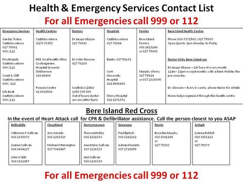 Emergency Phone Numbers List For Kids Emergency Phone List Emergency