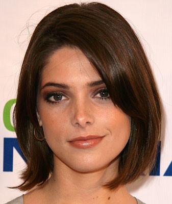 corte rosto redondo feminino