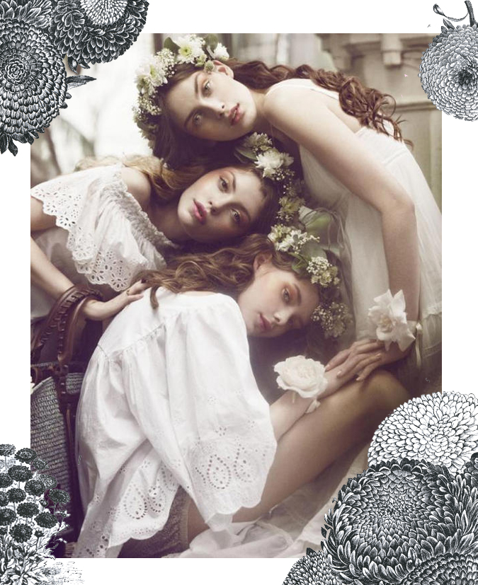 The Garden Nymphs by Signe Vilstrup for Elle Denmark