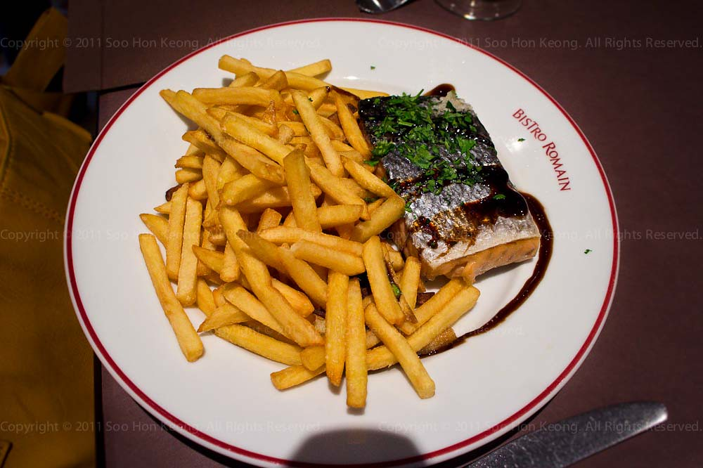 Grilled Salmon @ Paris, France