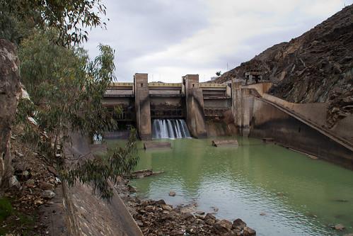 Dam on Kabul River
