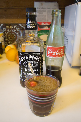 Whiskey Cherry Coke