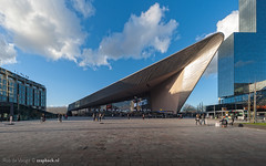 Rotterdam Centraal Station / 2014 (zzapback) Tags: holland netherlands dutch station architecture photography design rotterdam nikon europa europe fotografie angle ns wide nederland sigma enjoy 12mm fx 1224mm 010 architectuur dg centraal spoorwegen nationale zuidholland rotjeknor prorail groothoek hsm codarts zzapback robdevoogd