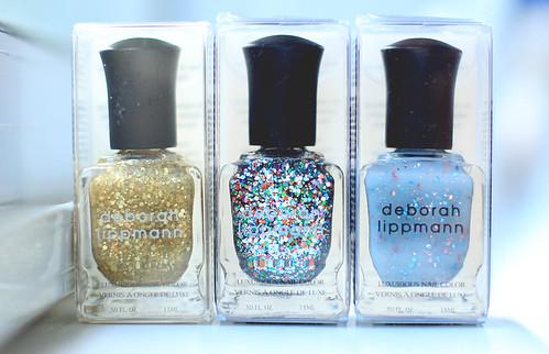 My New polishes Deborah Lippmann