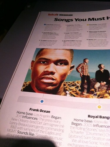 @frank_ocean hot damn who's that legit LA native chillin in my SPIN magazine...