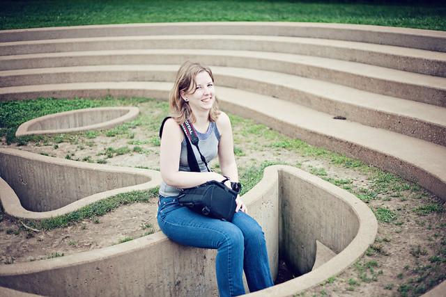 Laumeier sculpture park portrait